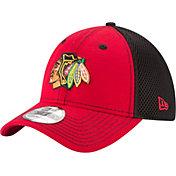 New Era Men's Chicago Blackhawks 39Thirty Neo Red Front Flex Hat