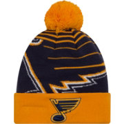 New Era Men's St. Louis Blues Logo Whiz Knit Hat