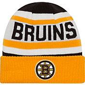 New Era Men's Boston Bruins Biggest Fan Redux Fleece Knit Hat