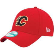 New Era Men's Calgary Flames 9FORTY Red Adjustable Hat