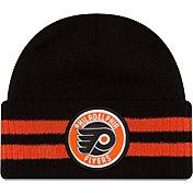New Era Men's Philadelphia Flyers Two Stripe Remix Knit Hat