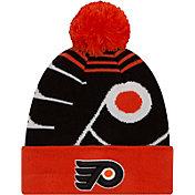 New Era Men's Philadelphia Flyers Logo Whiz Knit Hat