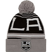 New Era Men's Los Angeles Kings Logo Whiz Knit Hat