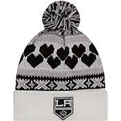 New Era Women's Los Angeles Kings Winter Cutie White Knit Hat