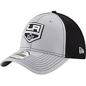 New Era Men's Los Angeles Kings 39Thirty Neo Grey Front Flex Hat