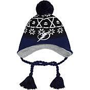 New Era Men's Tampa Bay Lightning Stay Toasty Black/Blue Peruvian Knit Hat