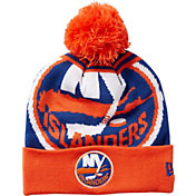 New Era Men's New York Islanders Logo Whiz Knit Hat