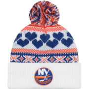 New Era Women's New York Islanders Winter Cutie White Knit Hat