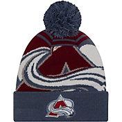 New Era Men's Colorado Avalanche Logo Whiz Knit Hat