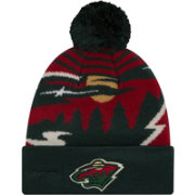 New Era Men's Minnesota Wild Logo Whiz Knit Hat