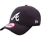 New Era Women's Atlanta Braves 9Forty Essential Navy Adjustable Hat