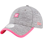 New Era Women's Milwaukee Brewers 9Twenty TrimFlect Grey Adjustable Hat