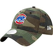 New Era Women's Chicago Cubs 9Twenty Camo Preferred Pick Adjustable Hat