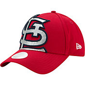 New Era Women's St. Louis Cardinals 9Forty Glitter Glam Adjustable Hat