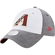 New Era Women's Arizona Diamondbacks 9Twenty Sparkle Shade White/Grey Adjustable Hat
