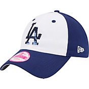 New Era Women's Los Angeles Dodgers 9Twenty Team Glimmer Royal Adjustable Hat