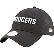 New Era Women's Los Angeles Dodgers 9Twenty Team Tagged Black Adjustable Hat