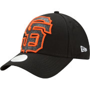 New Era Women's San Francisco Giants 9Forty Glitter Glam Adjustable Hat