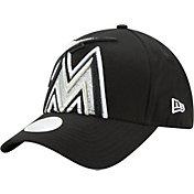 New Era Women's Miami Marlins 9Forty Glitter Glam Adjustable Hat
