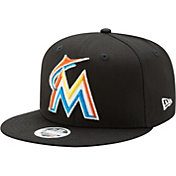 New Era Women's Miami Marlins 9Fifty Team Glisten Adjustable Hat