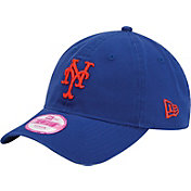 New Era Women's New York Mets 9Forty Essential Royal Adjustable Hat