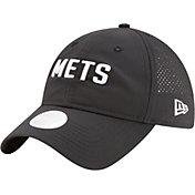 New Era Women's New York Mets 9Twenty Team Tagged Black Adjustable Hat