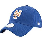 New Era Women's New York Mets 9Twenty Team Glisten Royal Adjustable Hat