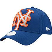 New Era Women's New York Mets 9Forty Glitter Glam Adjustable Hat