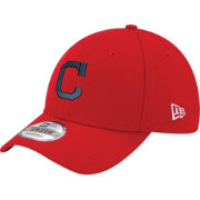New Era Women's Cleveland Indians 9Forty Red Adjustable Hat