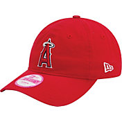 New Era Women's Los Angeles Angels 9Forty Essential Red Adjustable Hat