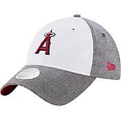 New Era Women's Los Angeles Angels 9Twenty Sparkle Shade White/Grey Adjustable Hat