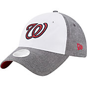 New Era Women's Washington Nationals 9Twenty Sparkle Shade White/Grey Adjustable Hat
