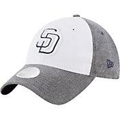 New Era Women's San Diego Padres 9Twenty Sparkle Shade White/Grey Adjustable Hat