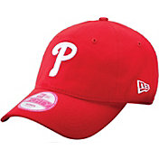 New Era Women's Philadelphia Phillies Essential 9Forty Structu Red Adjustable Hat