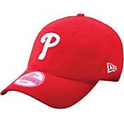 New Era Women's Philadelphia Phillies Essential 9Forty Structu Red Adjustable Hat