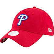 New Era Women's Philadelphia Phillies 9Twenty Team Glisten Red Adjustable Hat