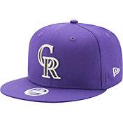 New Era Women's Colorado Rockies 9Fifty Team Glisten Adjustable Hat