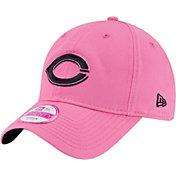 New Era Women's Cincinnati Reds 9Twenty Pink Preferred Pick Adjustable Hat