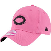 New Era Women's Cincinnati Reds 9Twenty Pink Preferred Pick Adjustable Hat