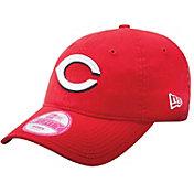 New Era Women's Cincinnati Reds 9Forty Red Essential Adjustable Hat