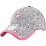 New Era Women's Cincinnati Reds 9Twenty TrimFlect Grey Adjustable Hat