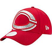 New Era Women's Cincinnati Reds 9Forty Glitter Glam Adjustable Hat