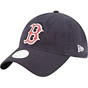 New Era Women's Boston Red Sox 9Twenty Team Glisten Navy Adjustable Hat