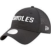 New Era Women's Baltimore Orioles 9Twenty Team Tagged Black Adjustable Hat