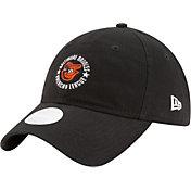 New Era Women's Baltimore Orioles 9Twenty Team Ace Black Adjustable Hat