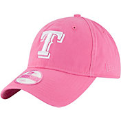New Era Women's Texas Rangers 9Twenty Pink Preferred Pick Adjustable Hat