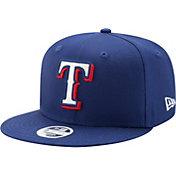 New Era Women's Texas Rangers 9Fifty Team Glisten Adjustable Hat