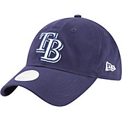 New Era Women's Tampa Bay Rays 9Twenty Team Glisten Navy Adjustable Hat
