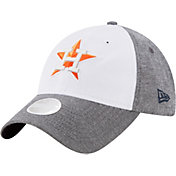 New Era Women's Houston Astros 9Twenty Sparkle Shade White/Grey Adjustable Hat