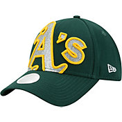 New Era Women's Oakland Athletics 9Forty Glitter Glam Adjustable Hat
